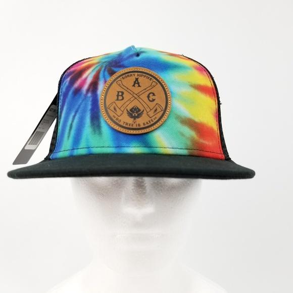 17ad88f2d6980 Ambush Board Co Headwear Tie Dye Snapback Hat Cap